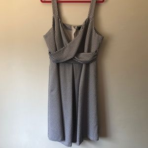 Eloquii Sleeveless Fit and Flare